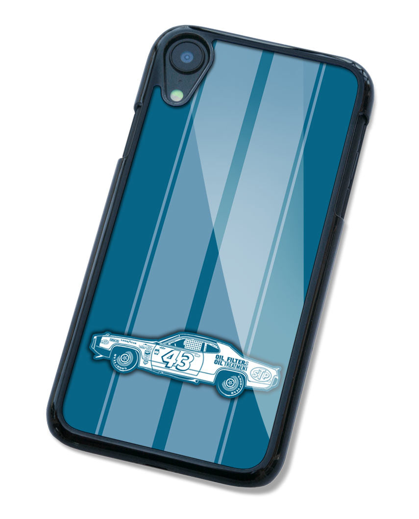 1972 Plymouth Road Runner R. PETTY - NASCAR Smartphone Case - Racing Stripes