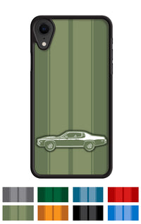 Plymouth Road Runner 1973 Coupe Smartphone Case - Racing Stripes