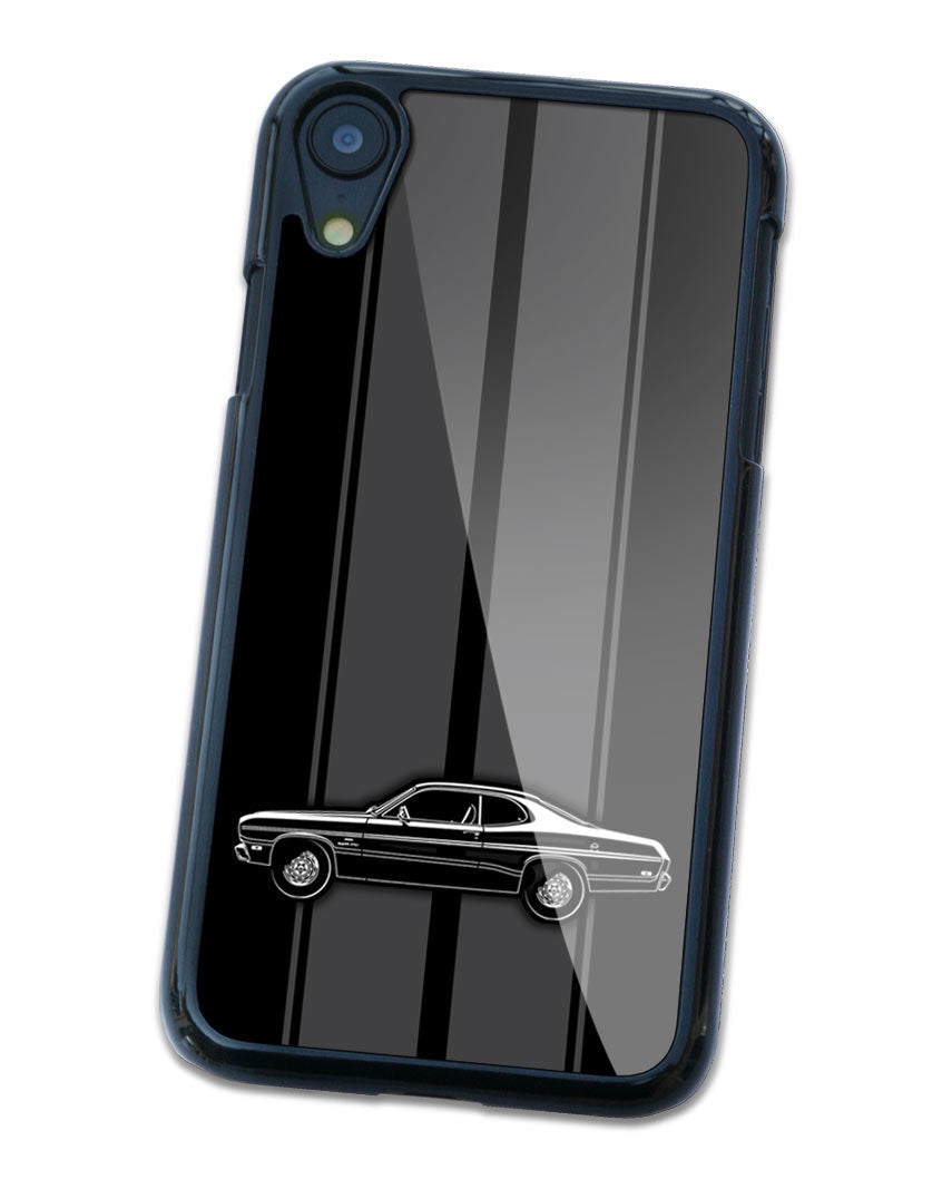 1970 Plymouth Duster Coupe Smartphone Case - Racing Stripes