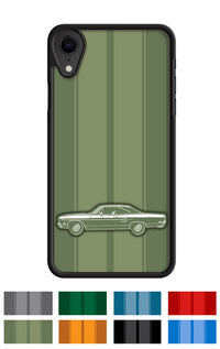 Plymouth Road Runner 1970 Coupe Smartphone Case - Racing Stripes