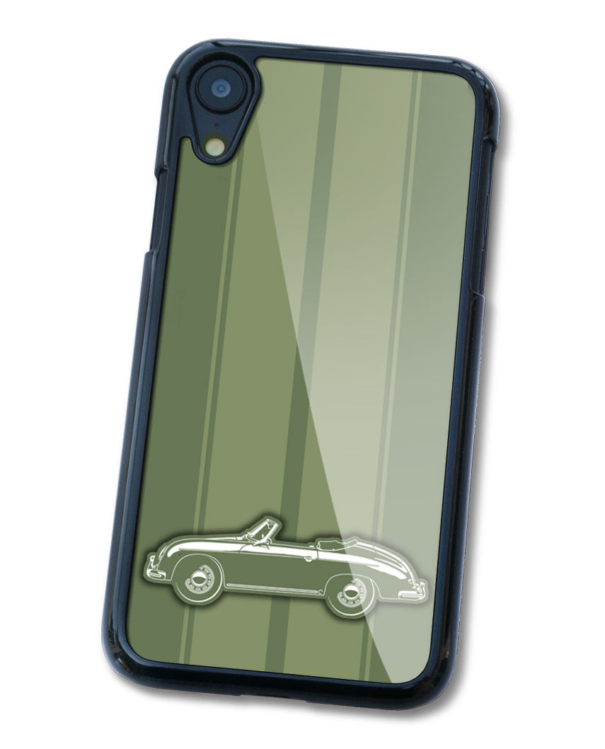 Porsche 356A Convertible Smartphone Case - Racing Stripes