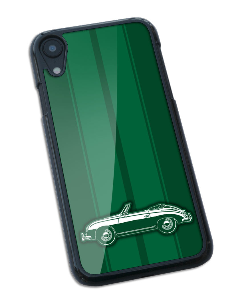 Porsche 356 Pre-A Convertible Smartphone Case - Racing Stripes