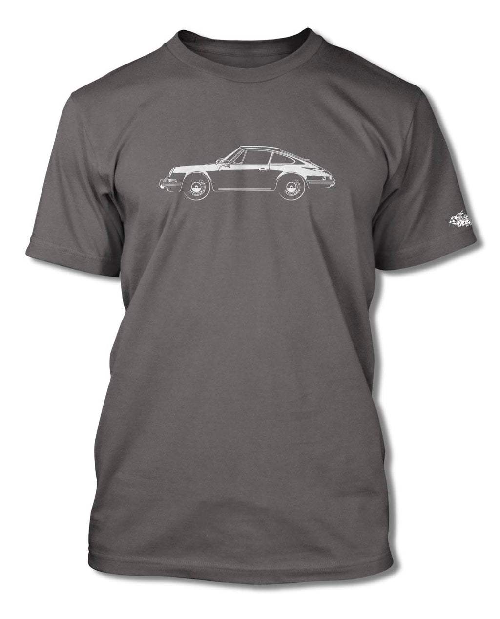 Porsche 911 Coupe T-Shirt - Men - Side View
