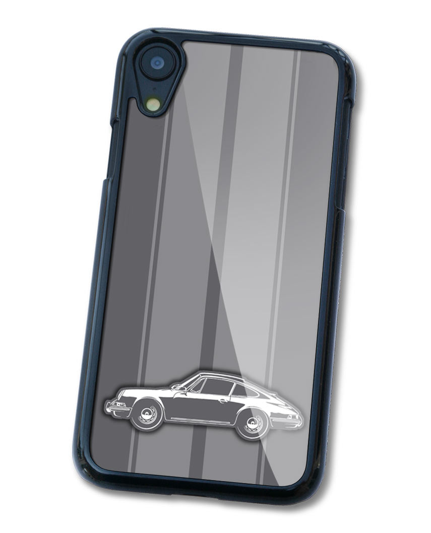 Porsche 911 Coupe Smartphone Case - Racing Stripes