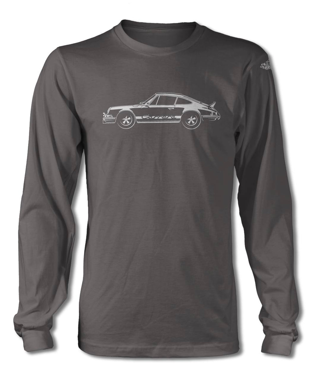 Porsche 911 Carrera RS T-Shirt - Long Sleeves - Side View