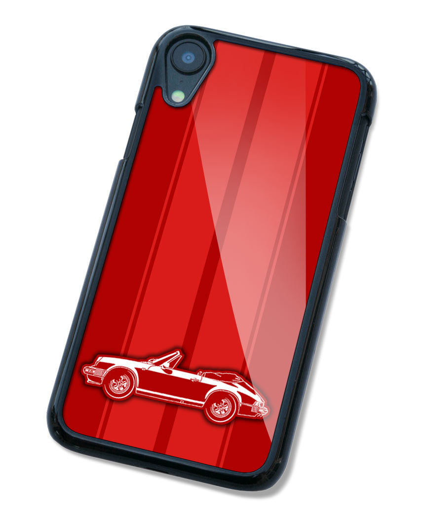 Porsche 911 Convertible Cabriolet Smartphone Case - Racing Stripes