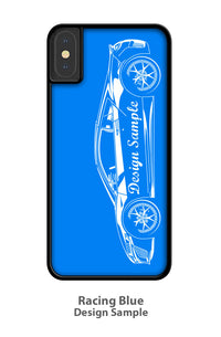 BMW E9 3.0 CSL Coupe Smartphone Case - Side View