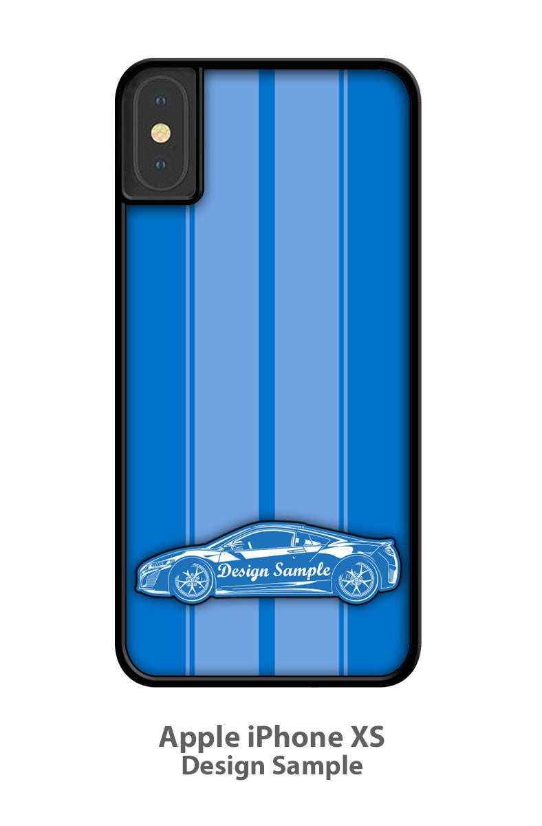 1971 Plymouth Road Runner HEMI Coupe Smartphone Case - Racing Stripes