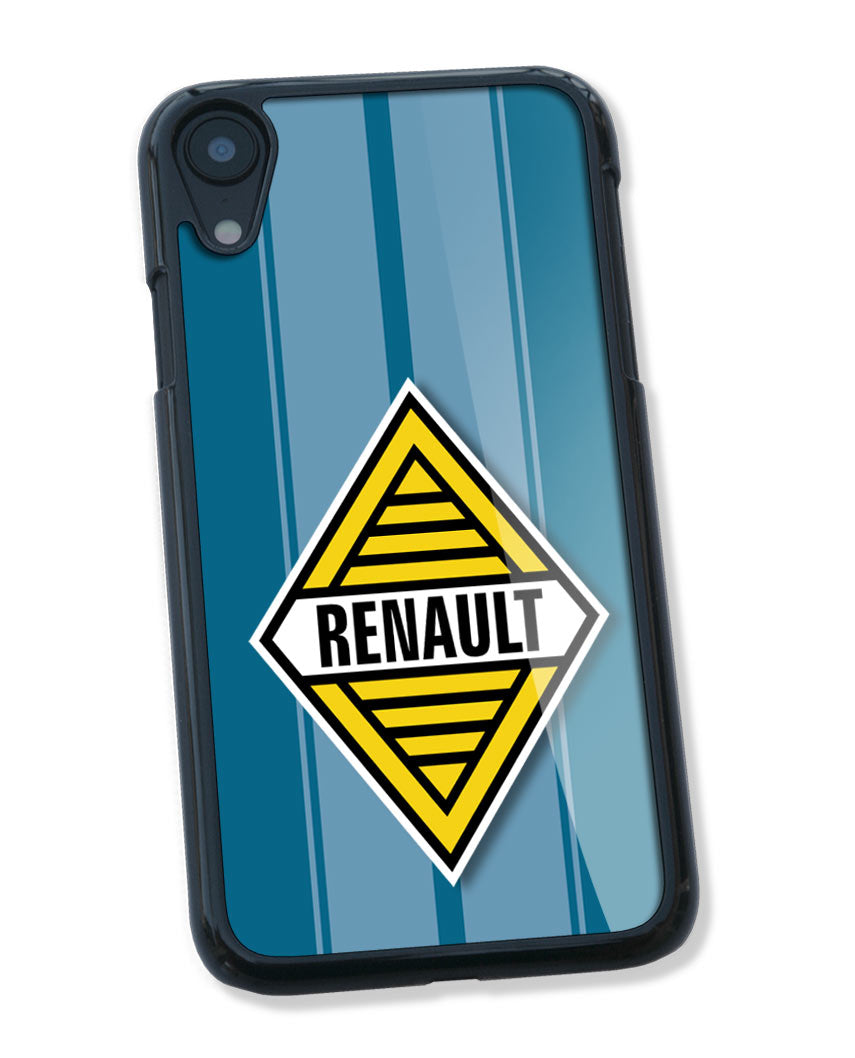 Renault Badge Emblem Smartphone Case - Racing Stripes