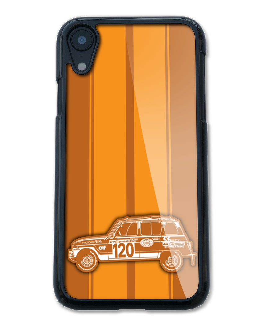 Renault R4 4L Sinpar / Marreau 1979 - 1980 Smartphone Case - Racing Stripes