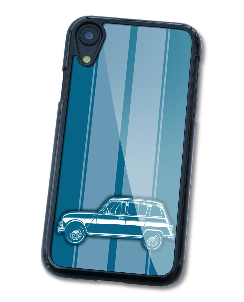 Renault R4 4L 1961 - 1977 Smartphone Case - Racing Stripes