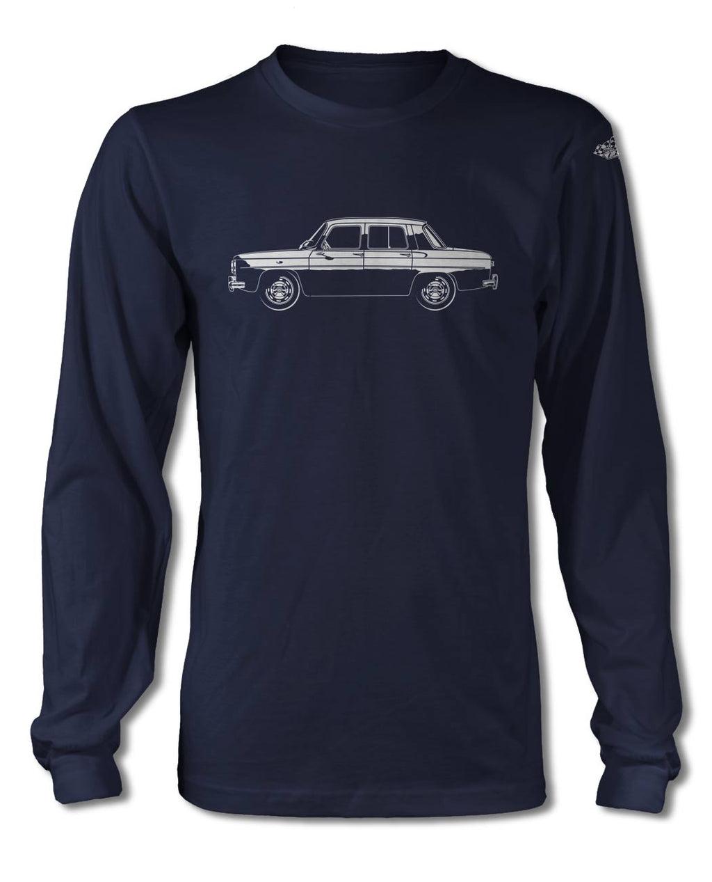 Renault 8 Gordini 1964 – 1974 T-Shirt - Long Sleeves - Side View
