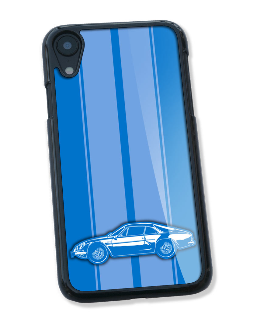 Alpine Renault A110 Berlinette Smartphone Case - Racing Stripes