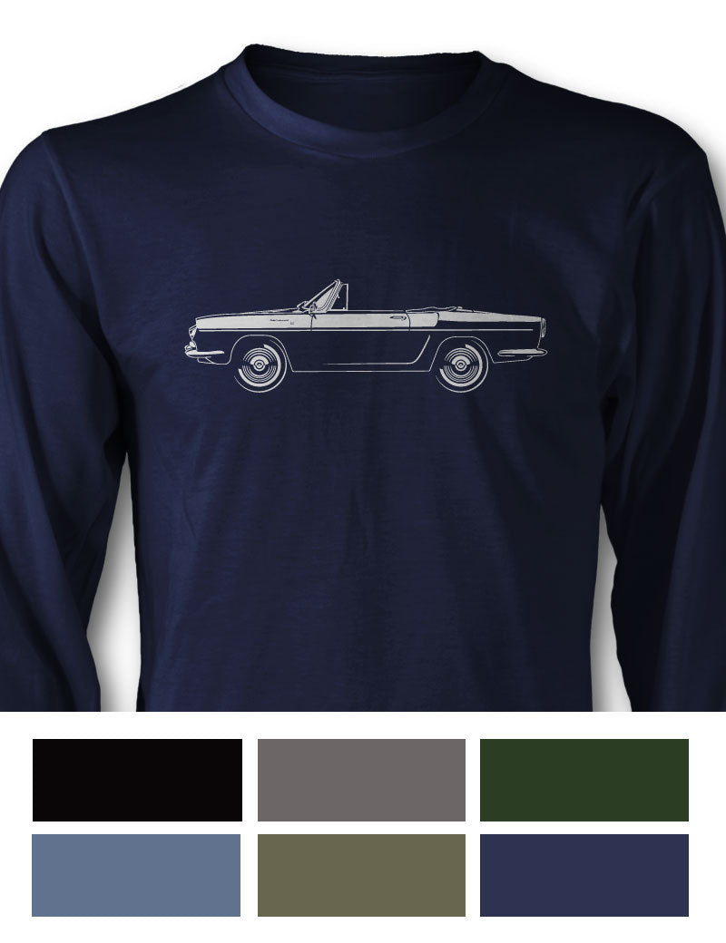 Renault Caravelle Floride Convertible Long Sleeve T-Shirt - Side View