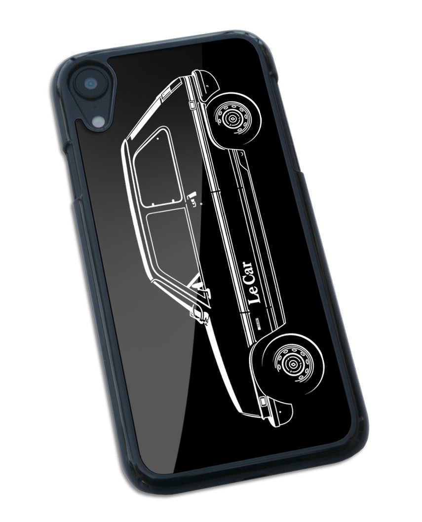 Renault 5 / R5 LeCar Smartphone Case - Side View