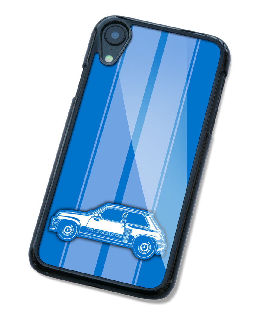 Renault R5 Turbo 2 1980 – 1986 Smartphone Case - Racing Stripes