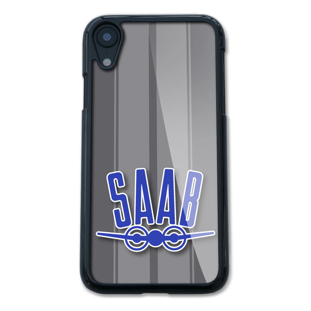 Saab Badge Emblem Smartphone Case - Racing Stripes