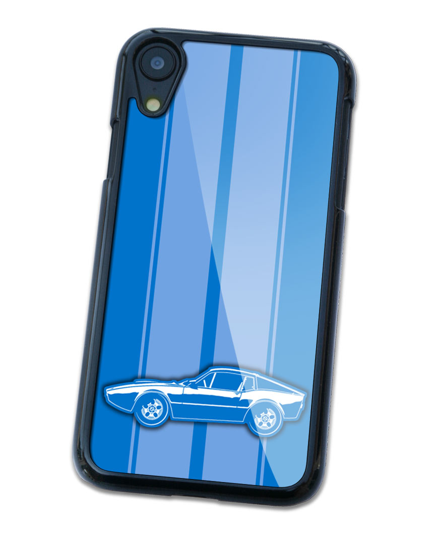 Saab Sonett III Saab 97 Coupe Smartphone Case - Racing Stripes