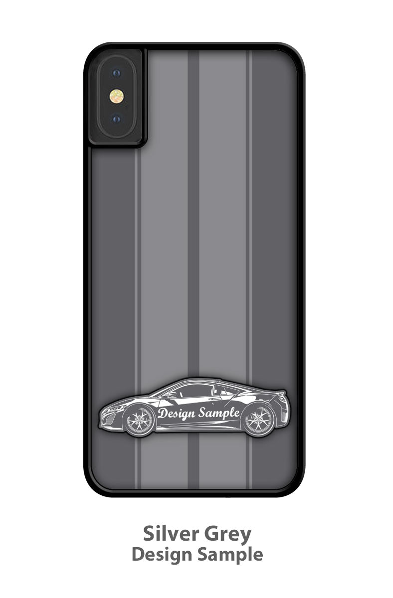 Datsun 510 SSS Bluebird 1600 Coupe Smartphone Case - Racing Stripes