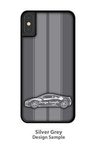 1967 Plymouth Barracuda Coupe Smartphone Case - Racing Stripes