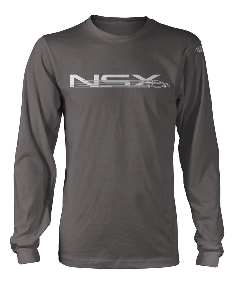 Honda Acura NSX 1990 - 2005 Full Speed T-Shirt - Long Sleeves - Speed Effect