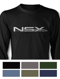 Honda Acura NSX 1990 - 2005 Long Sleeve T-Shirt - Speed Effect