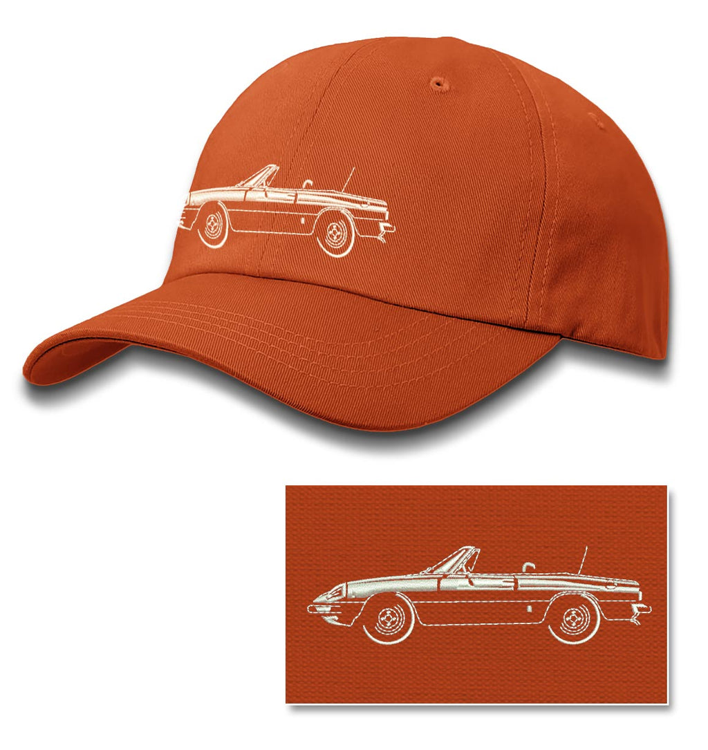 Alfa Romeo Spider Veloce Convertible 1970 - 1982 Baseball Cap for Men & Women