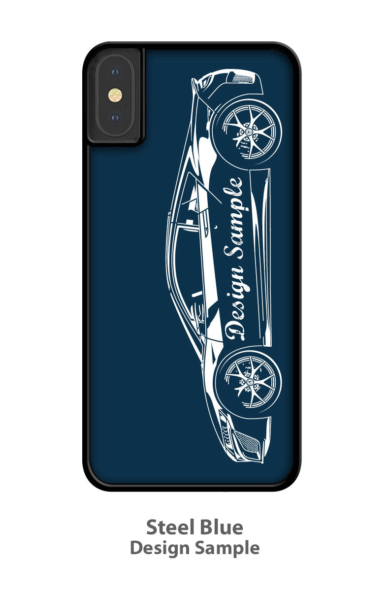 Porsche 356A Roadster Smartphone Case - Side View