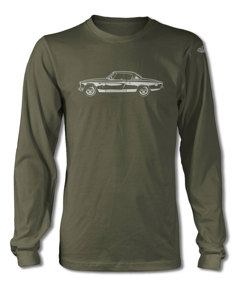 Studebaker Starlight Coupe 1953 T-Shirt - Long Sleeves - Side View