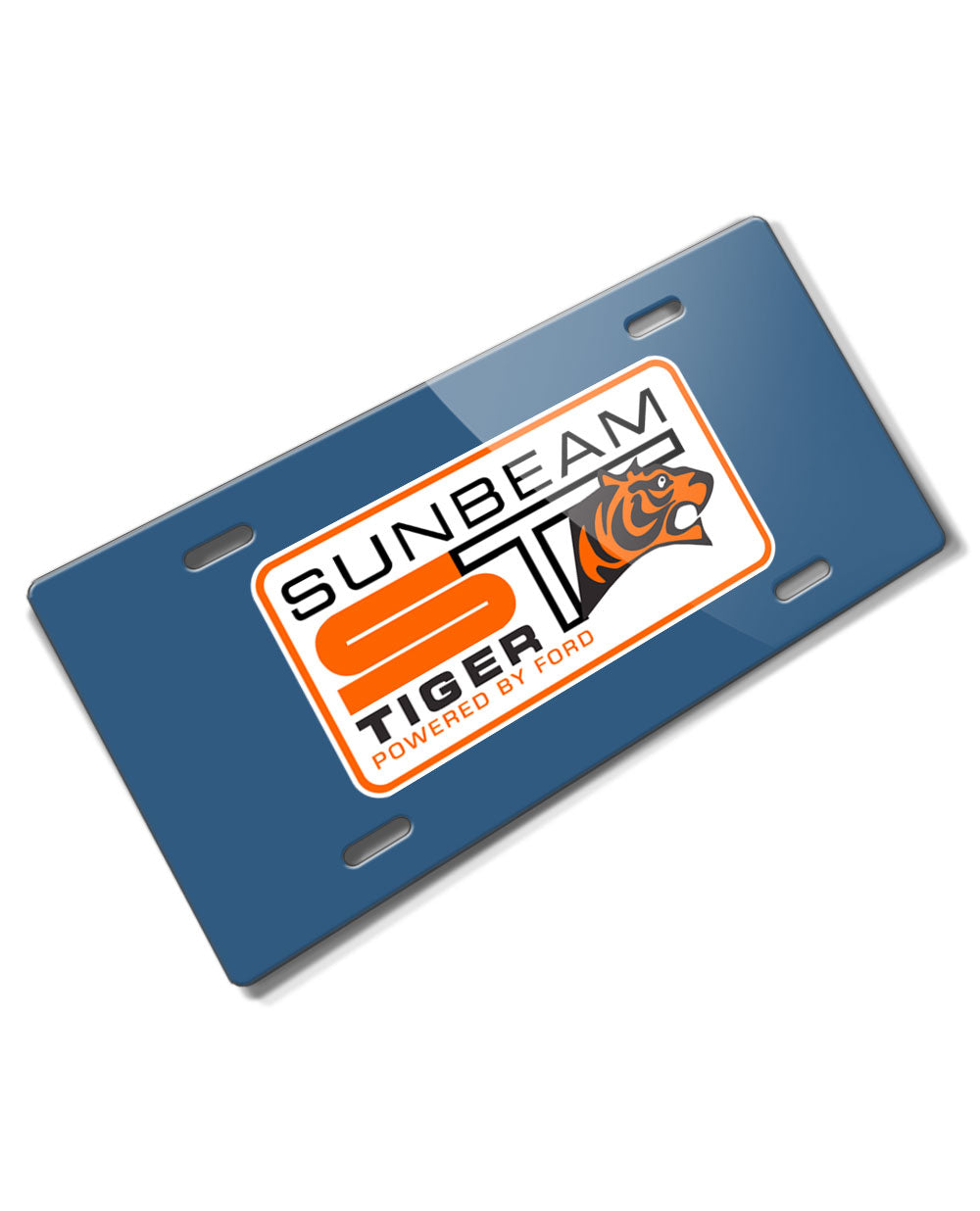 Sunbeam Tiger Emblem Novelty License Plate - Vintage Emblem