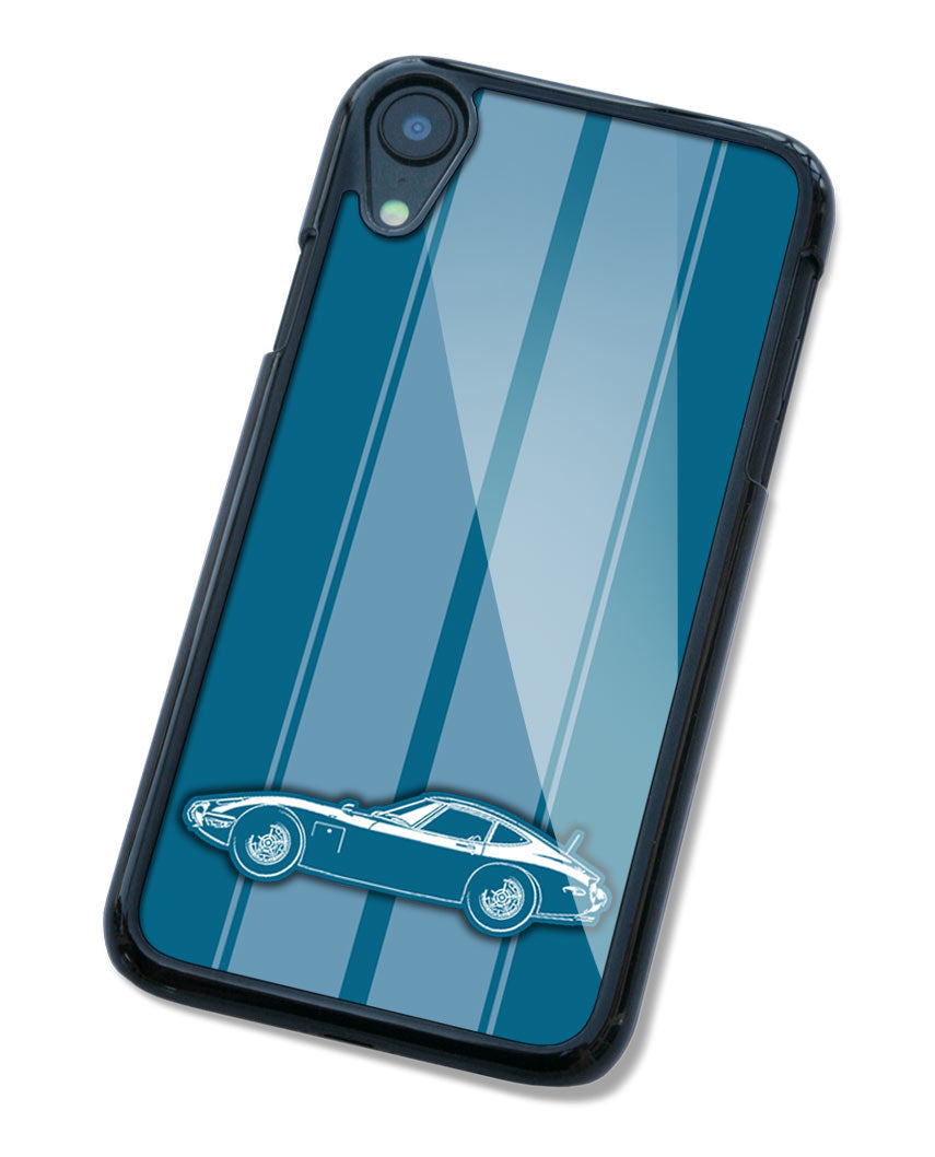 Toyota 2000GT Coupe Smartphone Case - Racing Stripes
