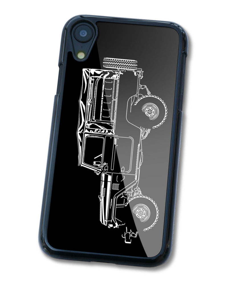 Toyota BJ43 FJ43 Land Cruiser 4x4 Smartphone Case - Side View