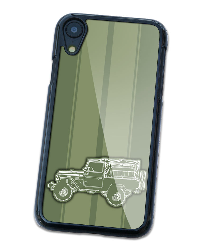 Toyota BJ43 FJ43 Land Cruiser 4x4 Smartphone Case - Racing Stripes