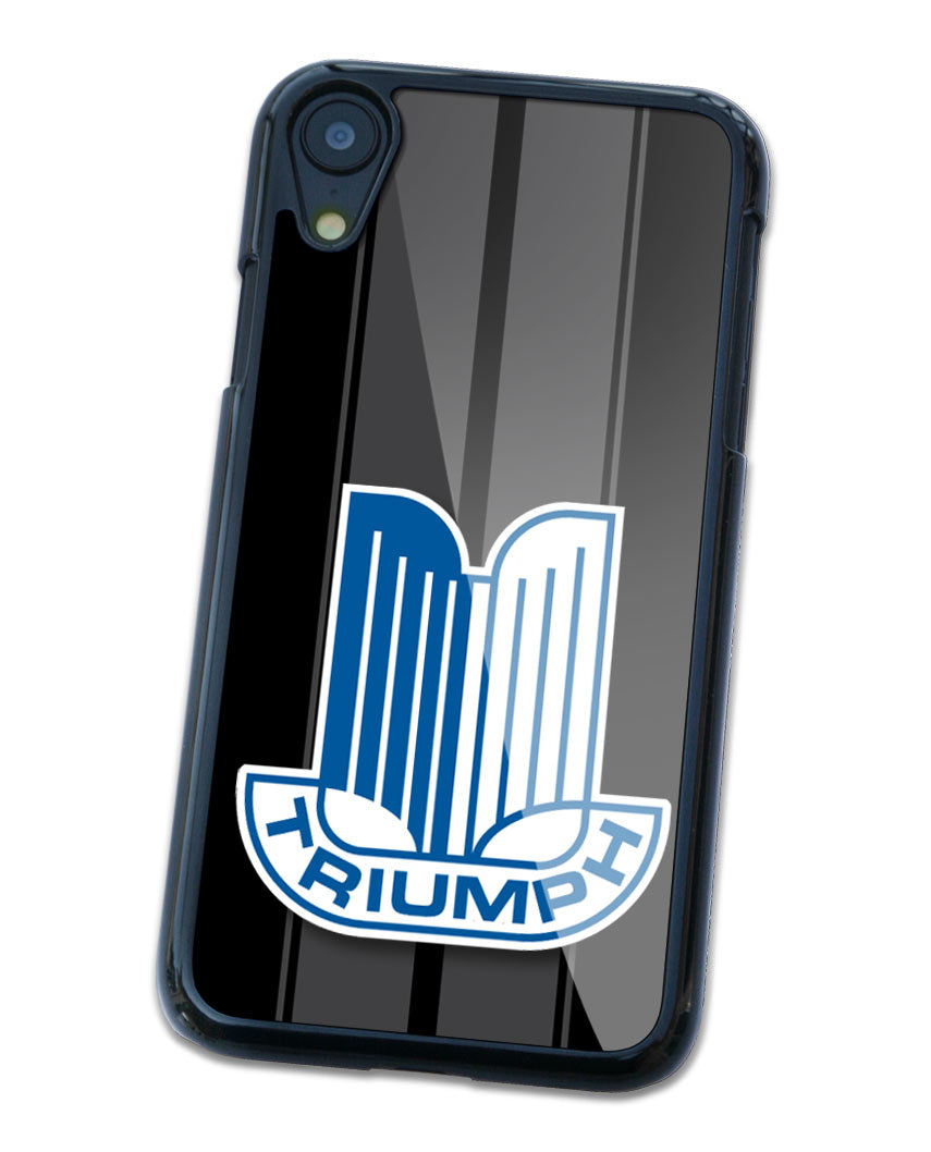 Triumph Badge Emblem Smartphone Case - Racing Stripes