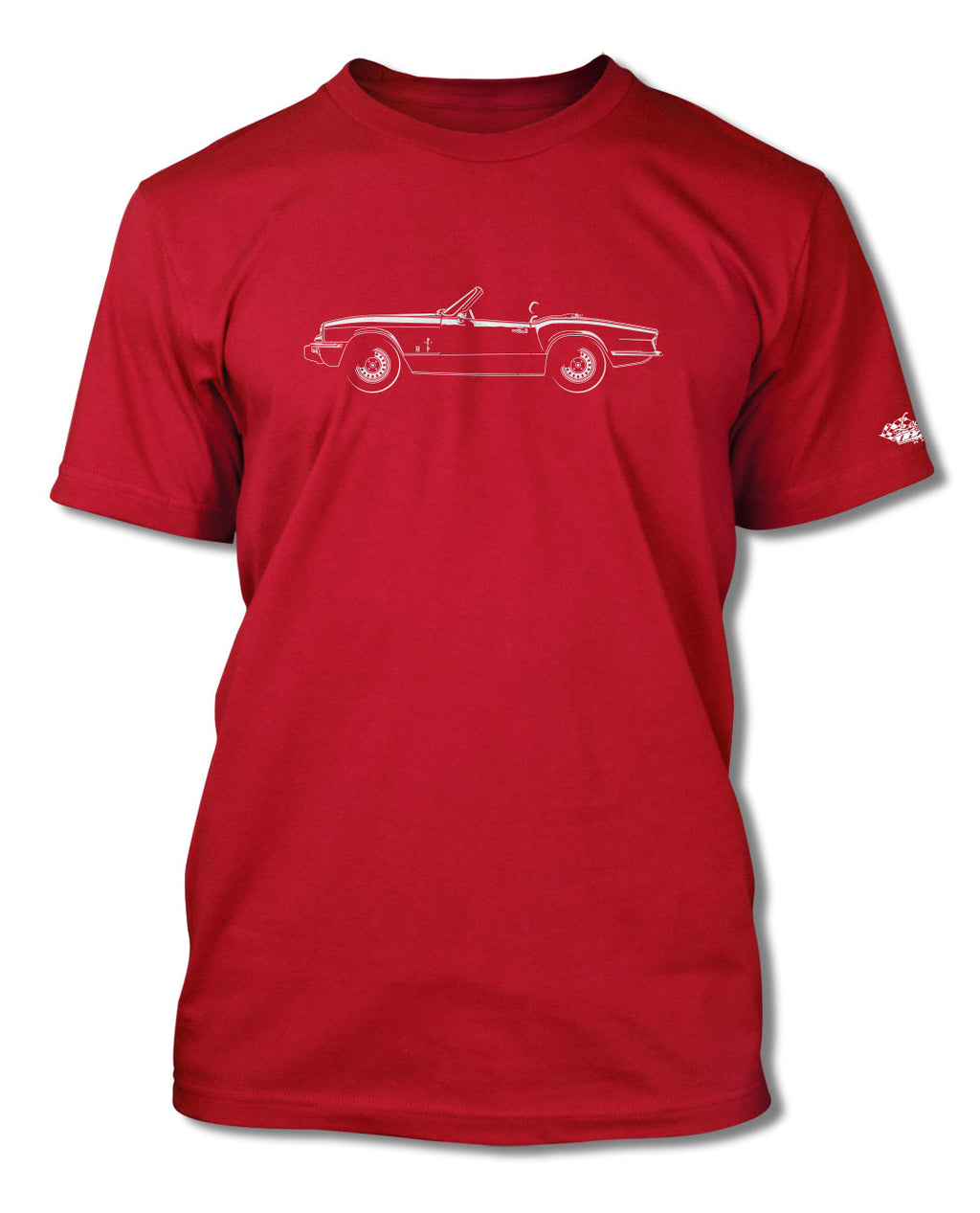 Triumph Spitfire 1500 S1 Convertible T-Shirt - Men - Side View