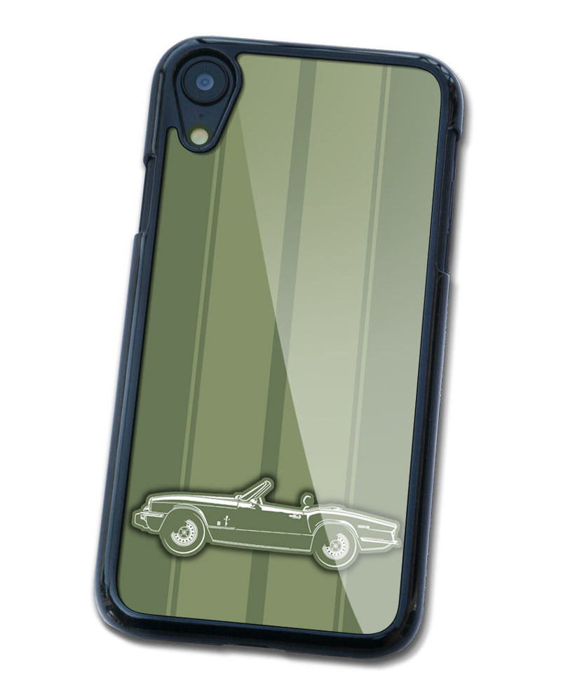 Triumph Spitfire MKIV Convertible Smartphone Case - Racing Stripes