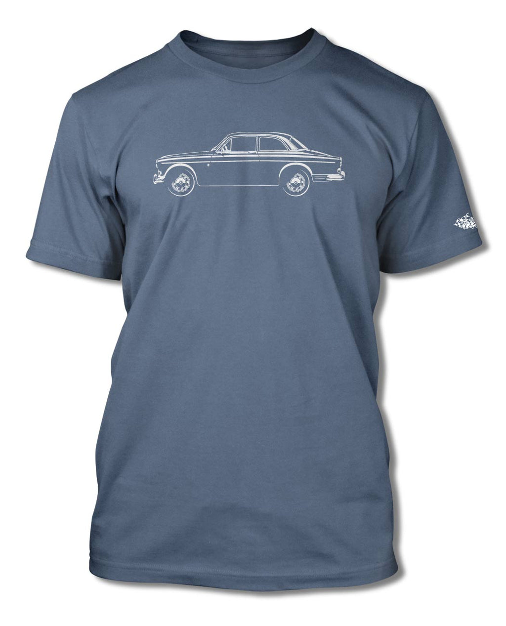 Volvo P120 P122S Amazon Coupe T-Shirt - Men - Side View