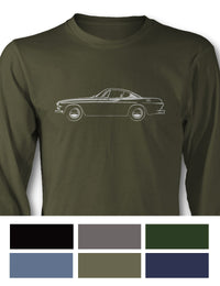Volvo P1800 Coupe Long Sleeve T-Shirt - Side View