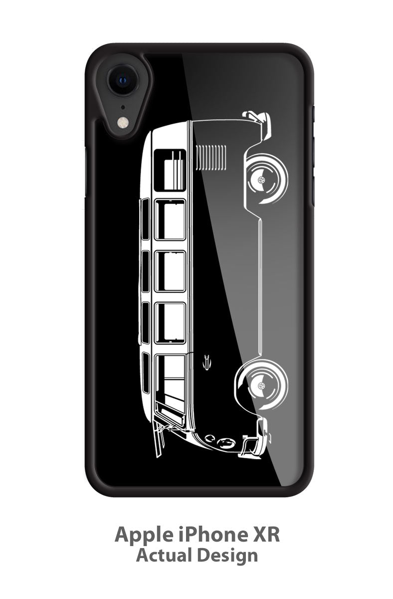 Volkswagen Kombi Samba 21 windows Smartphone Case - Side View