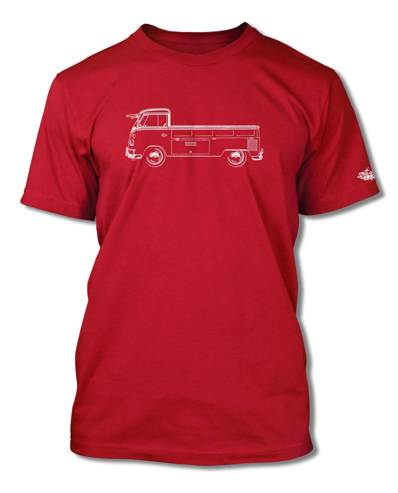 Volkswagen Kombi Utility Pickup Open Bed T-Shirt - Men - Side View