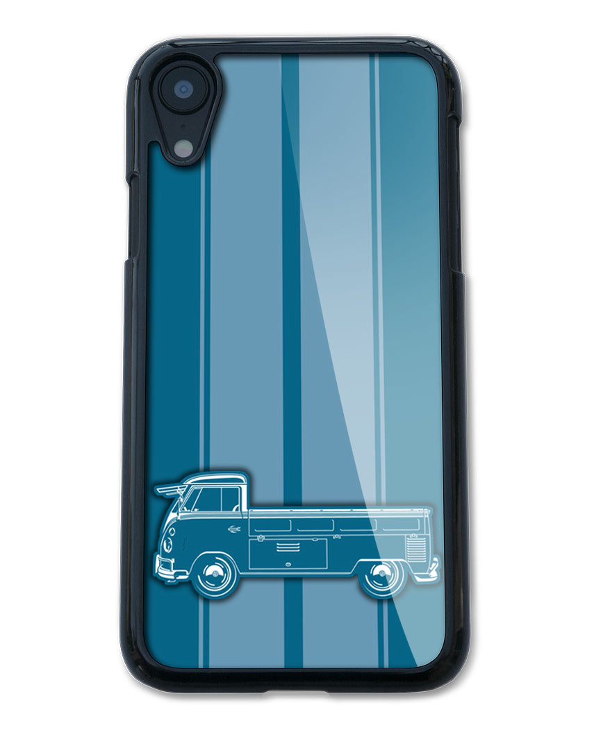 Volkswagen Kombi Utility Pickup Open Bed Smartphone Case - Racing Stripes