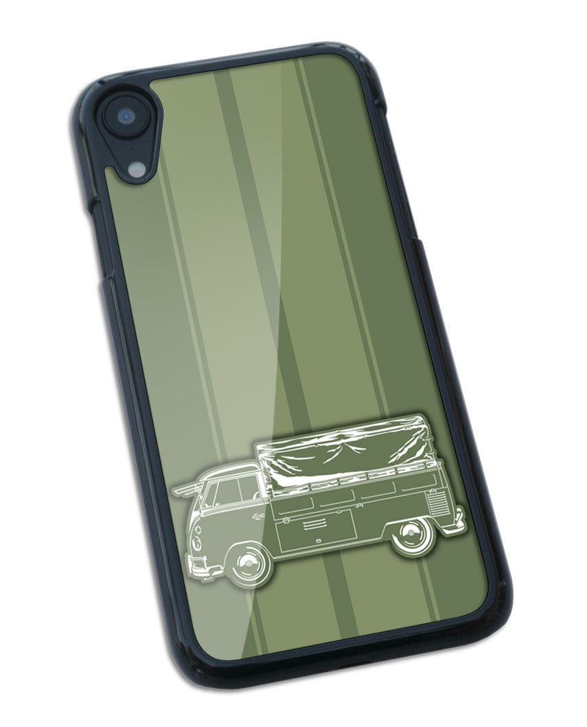 Volkswagen Kombi Utility Pickup Covered Bed Smartphone Case - Racing Stripes