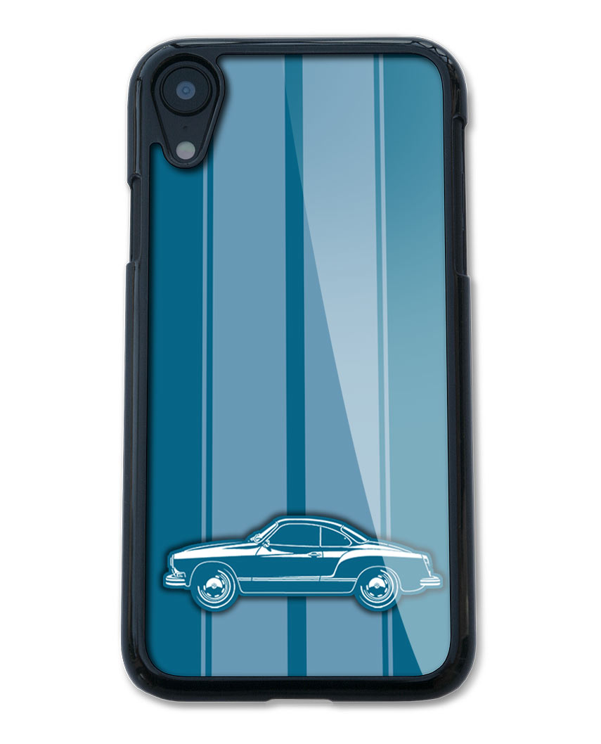 Volkswagen Karmann Ghia Coupe Smartphone Case - Racing Stripes