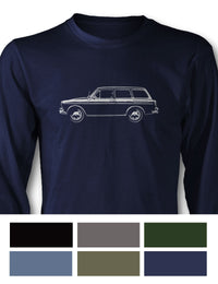 Volkswagen Type 3 Variant Squareback Long Sleeve T-Shirt - Side View