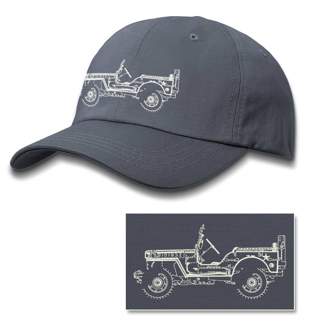 Jeep Willys WWII 1941 - 1945 Baseball Cap for Men & Women