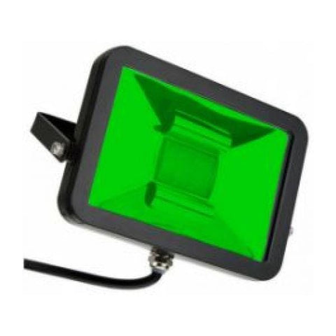 Deltech Slimline 10W LED Floodlight - Green - FLA10GR