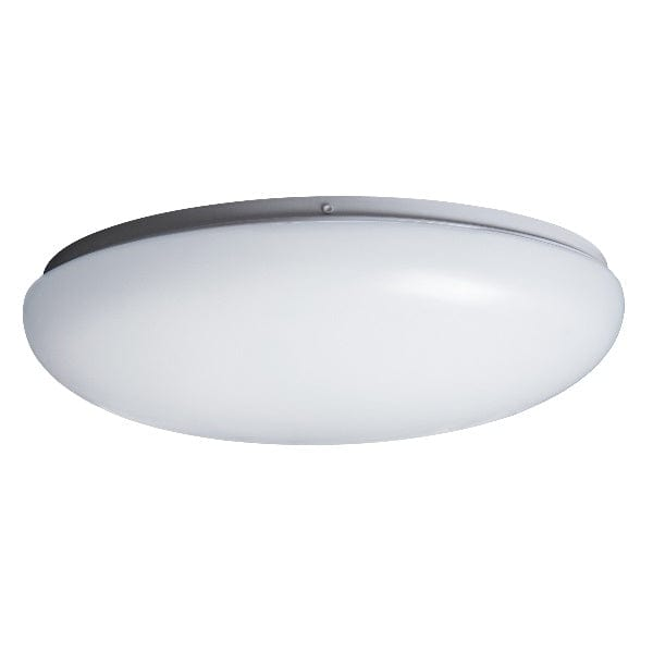 Robus Lustre White 18W LED Colour Selectable Non-Dimmable Surface Fitting