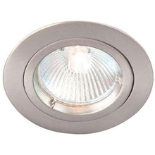 Robus 50W Die Cast Circular Straight Downlight Brushed Chrome - RD101SC-13