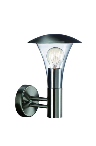 Philips Massive BEAUMONT Wall Lantern Stainless Steel - 161204710