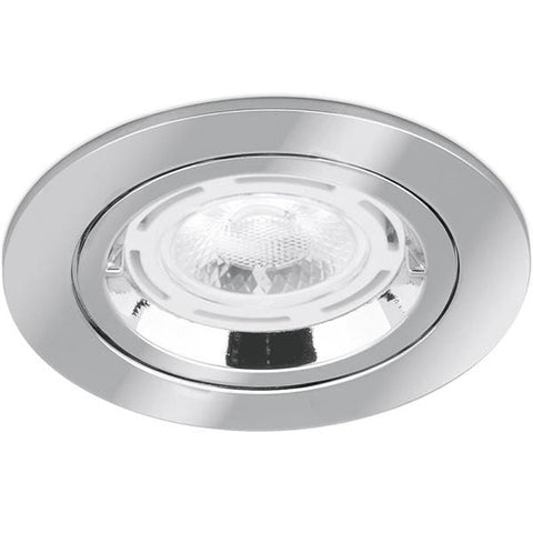 Aurora Fixed IP20 GU10 Non-Integrated Downlight Satin Nickel - AU-DLM356SN